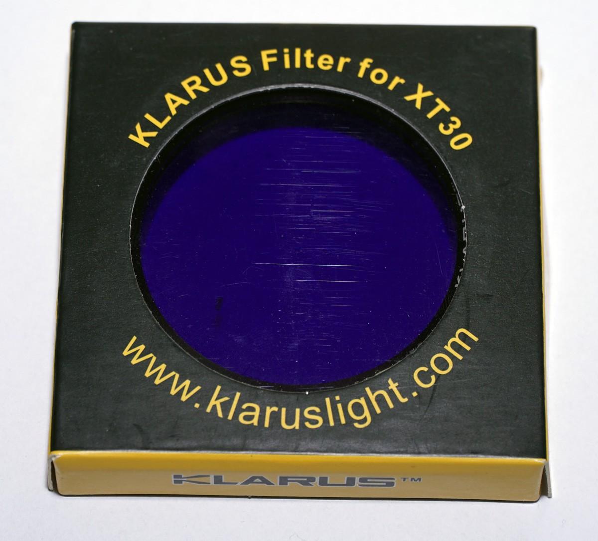 Klarus XT30/XT32 (R) Farbfilter, blau