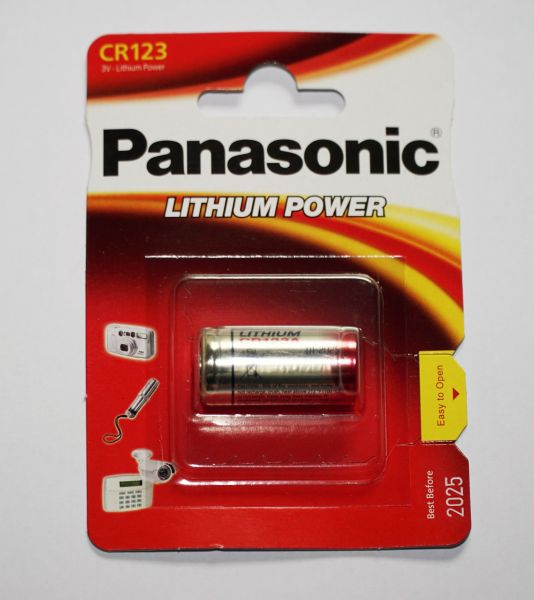 Panasonic CR123 Lithium Batterie