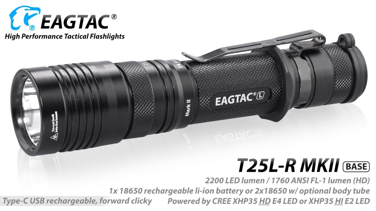 EAGTAC T25LR MKII, Kit
