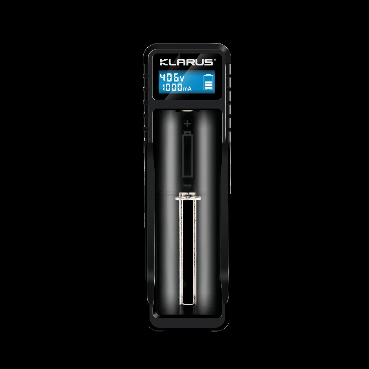 Klarus K1X, 1 Schacht USB Ladegerät mit Powerbank Funktion