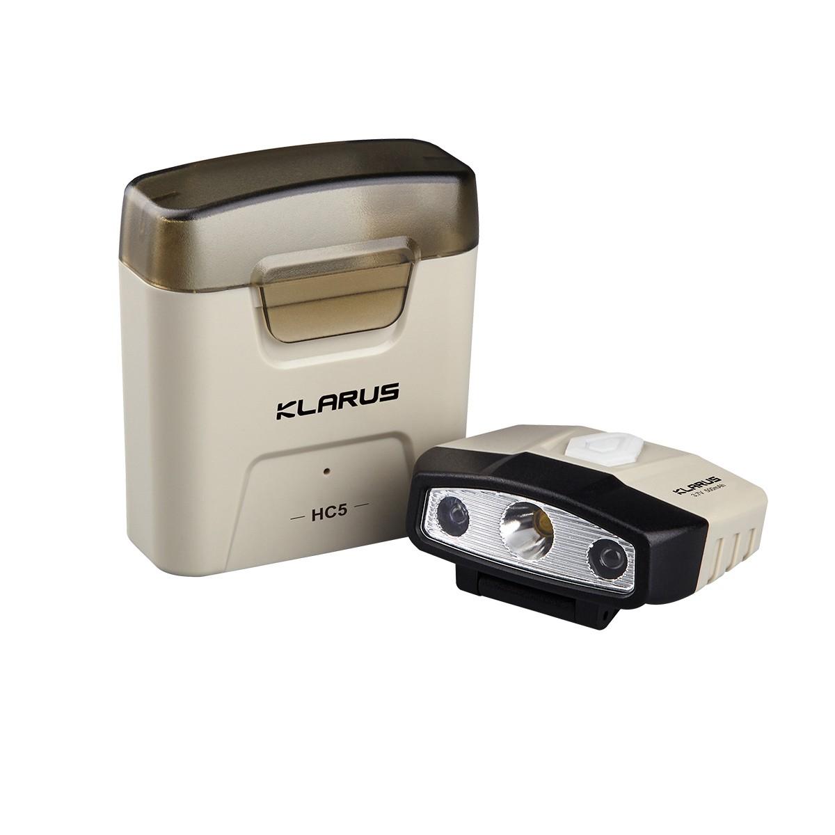Klarus HC5, Sensor Cliplampe mit Ladestation