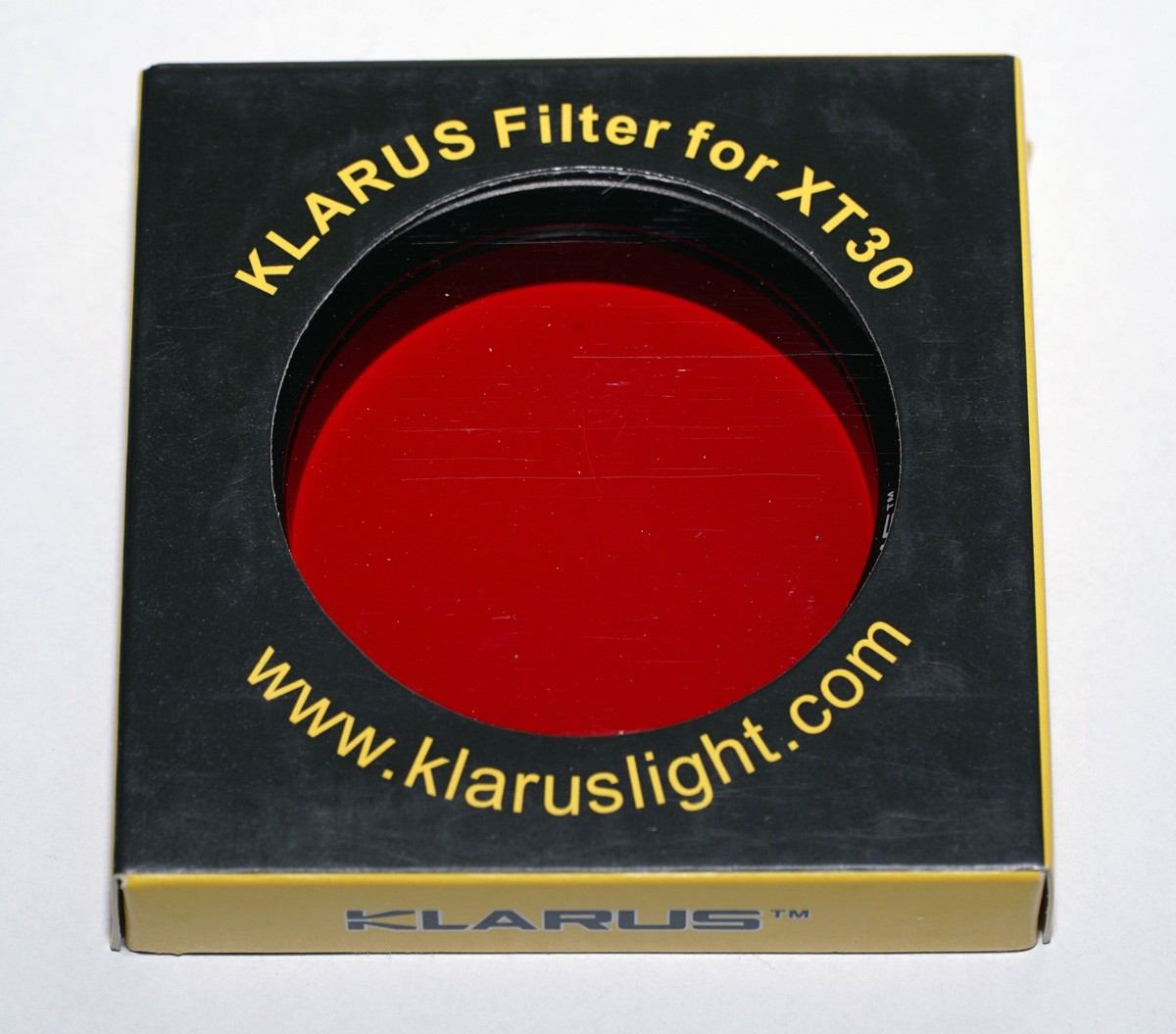 Klarus XT30 (R) Farbfilter, rot