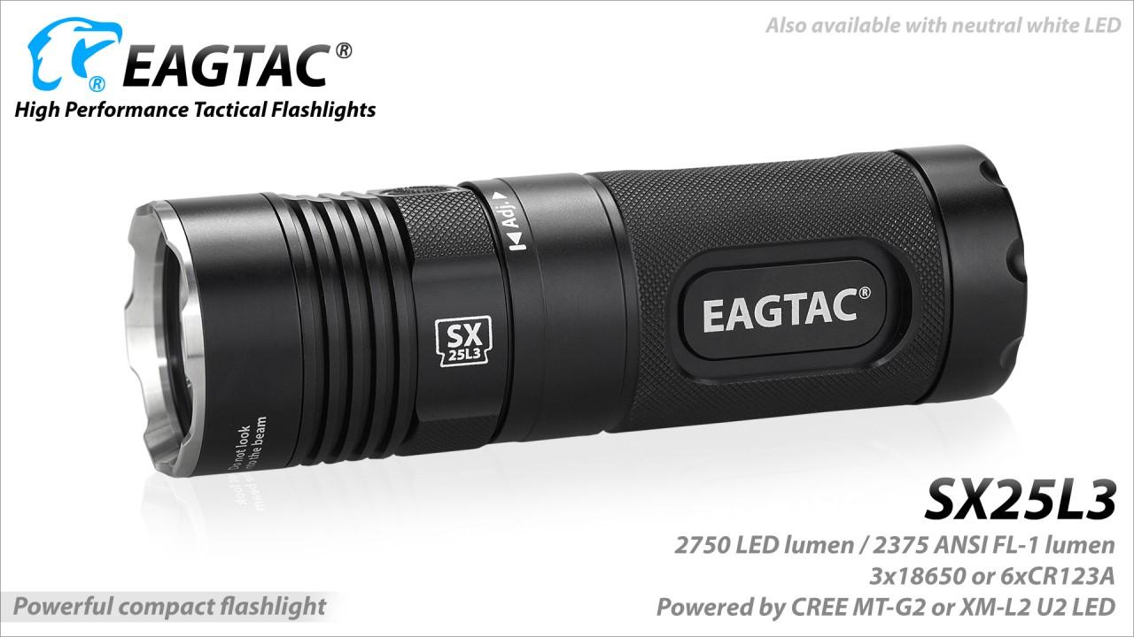 EAGTAC SX25L3. XH-P50, kit