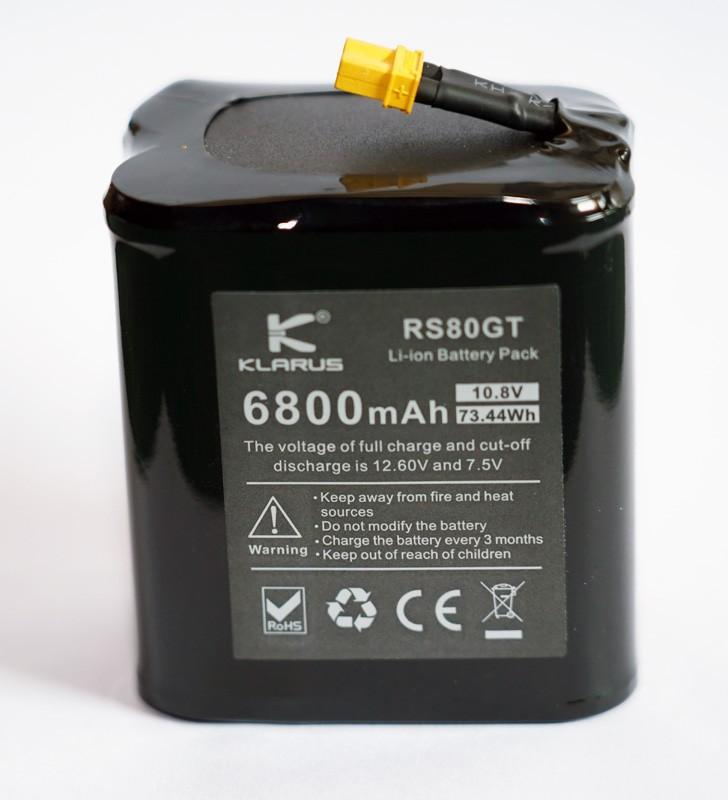 Klarus RS80GT Ersatzakku
