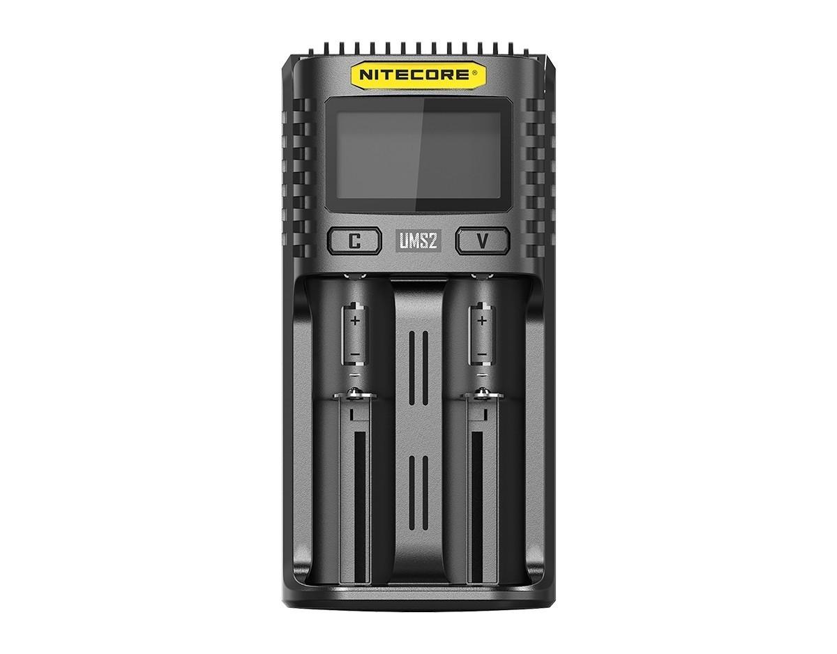 Nitecore UMS2 2 Schacht USB Ladegerät