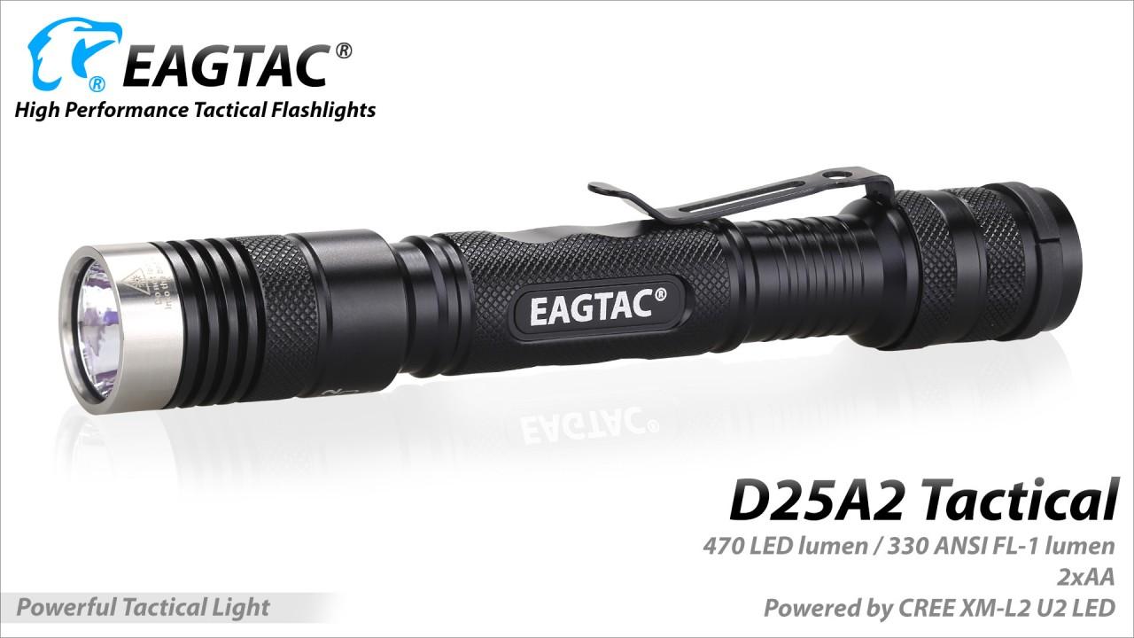 EAGTAC D25A2 Tactical, XM-L2 U2