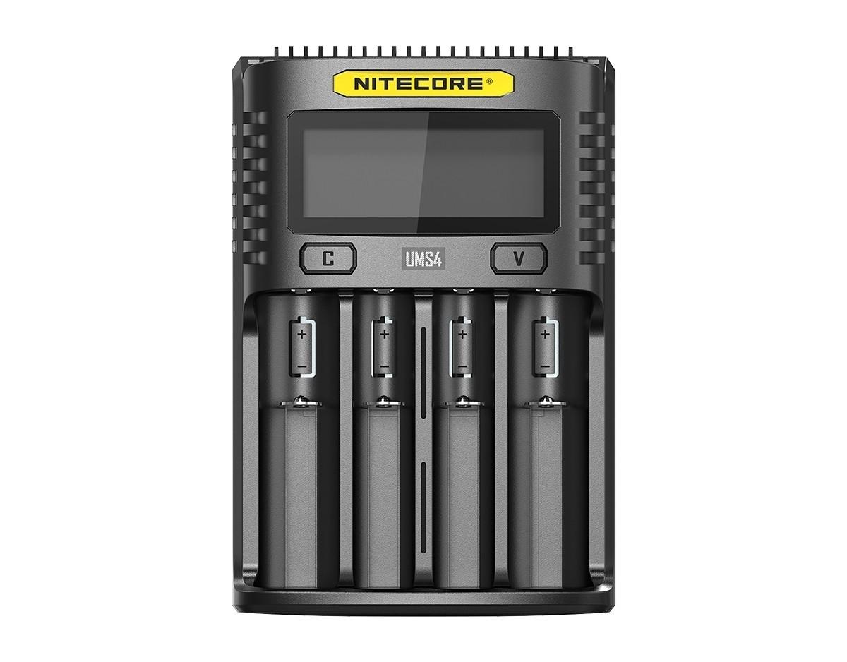 Nitecore UMS4 4 Schacht USB Ladegerät