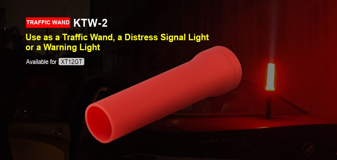 Klarus Traffic Wand Red KTW2-3